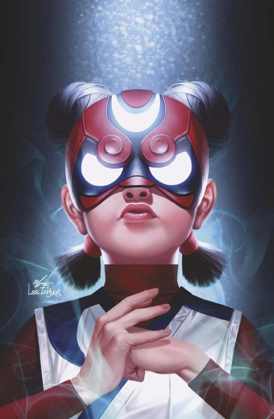 Future Fight Firsts Crescent And Io #1 Cover E Incentive Inhyuk Lee Virgin Cover