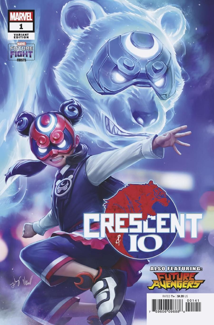 Future Fight Firsts Crescent And Io #1 Cover D Incentive Yongjoon Cho Netmarble Variant Cover