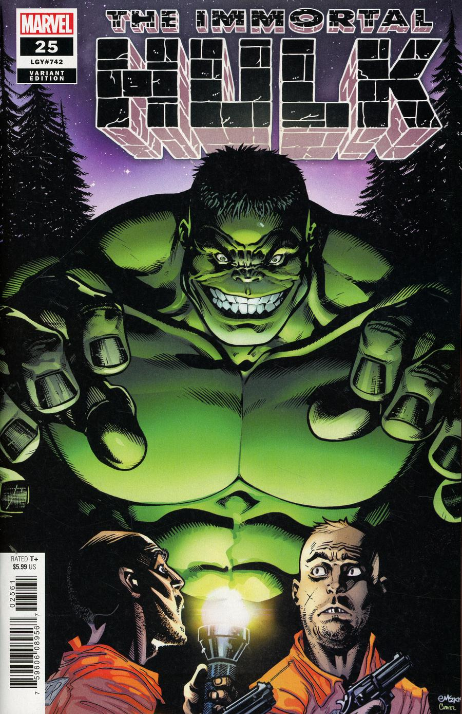 Immortal Hulk #25 Cover D Incentive Ed McGuinness Variant Cover