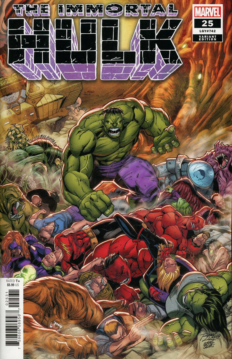 Immortal Hulk #25 Cover F Incentive Ron Lim Variant Cover
