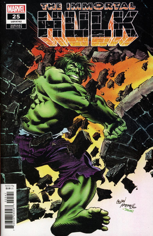 Immortal Hulk #25 Cover G Incentive Gene Colan & Rudy Nebres Hidden Gem Variant Cover