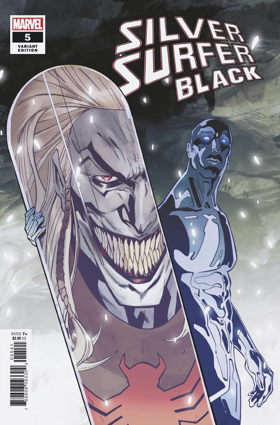 Silver Surfer Black #5 Cover D Incentive Cian Tormey Variant Cover