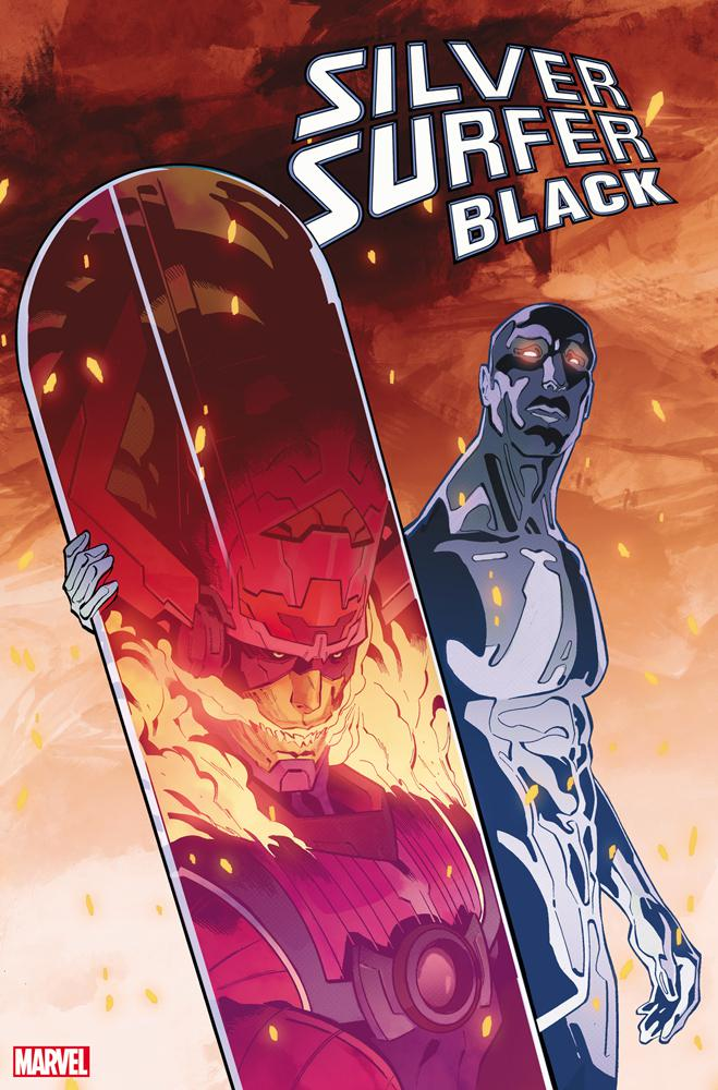Silver Surfer Black #5 Cover E Incentive Cian Tormey Foreshadow Variant Cover