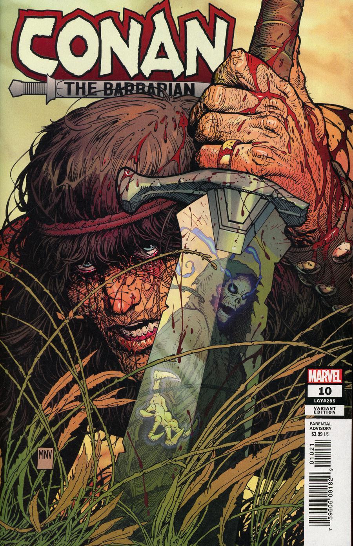 Conan The Barbarian Vol 4 #10 Cover B Incentive Steve McNiven Variant Cover