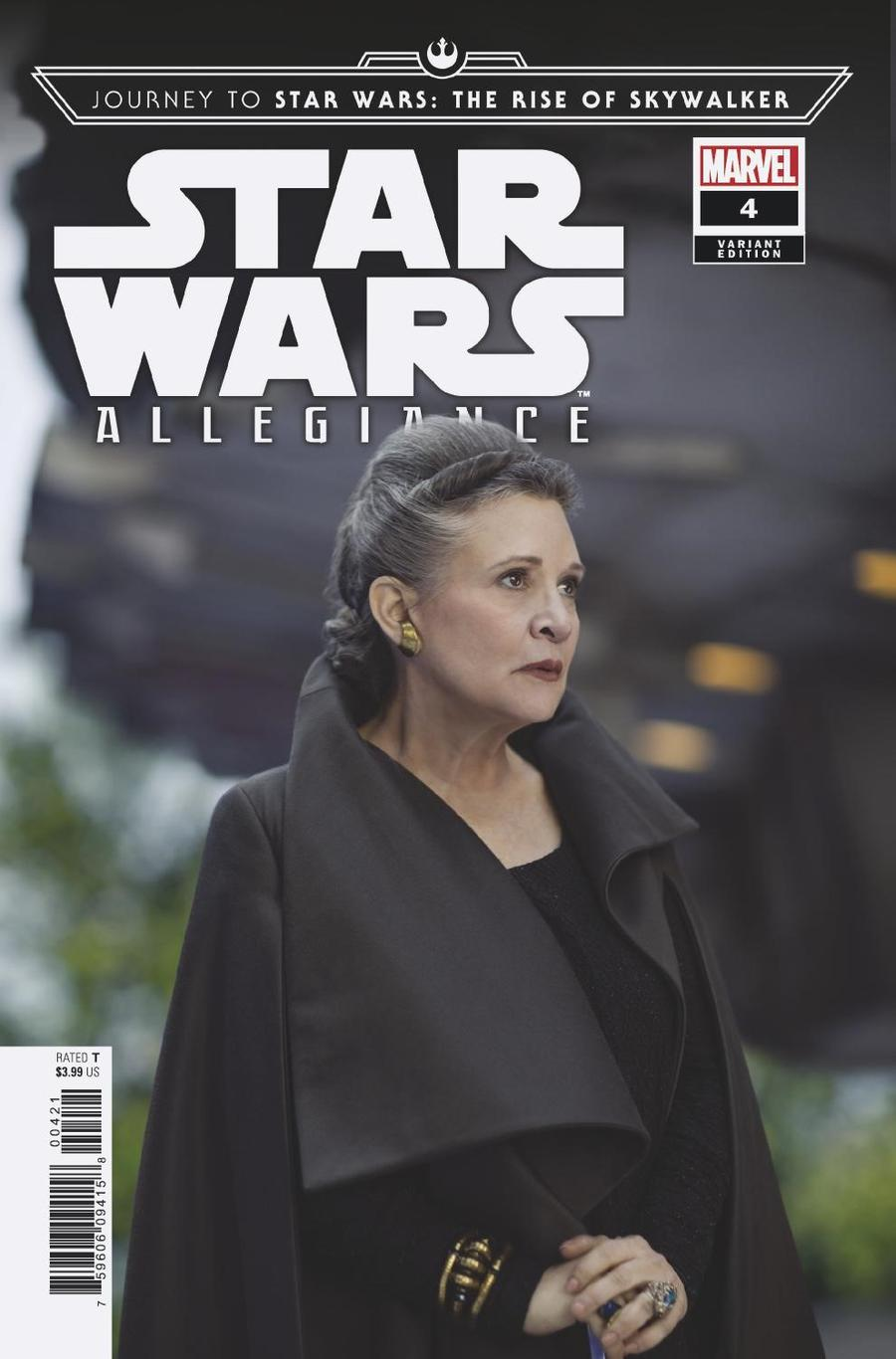 Journey To Star Wars The Rise Of Skywalker Allegiance #4 Cover C Incentive Movie Variant Cover