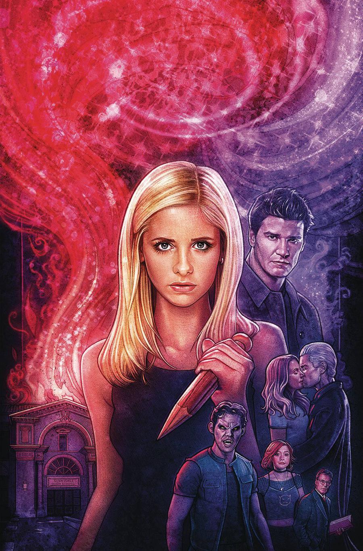 Buffy The Vampire Slayer Angel Hellmouth #1 Cover E Variant Kyle Lambert Foil Cover