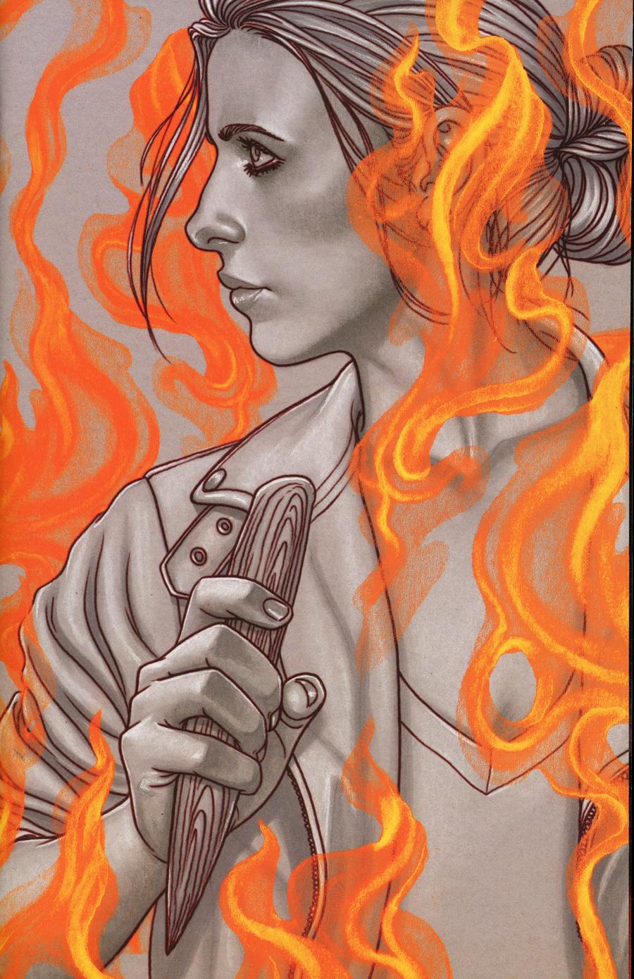 Buffy The Vampire Slayer Angel Hellmouth #1 Cover F Incentive Jenny Frison Variant Cover
