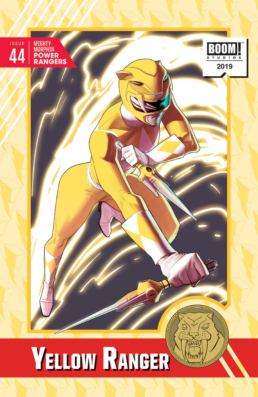 Mighty Morphin Power Rangers (BOOM Studios) #44 Cover D Incentive Kris Anka Variant Cover