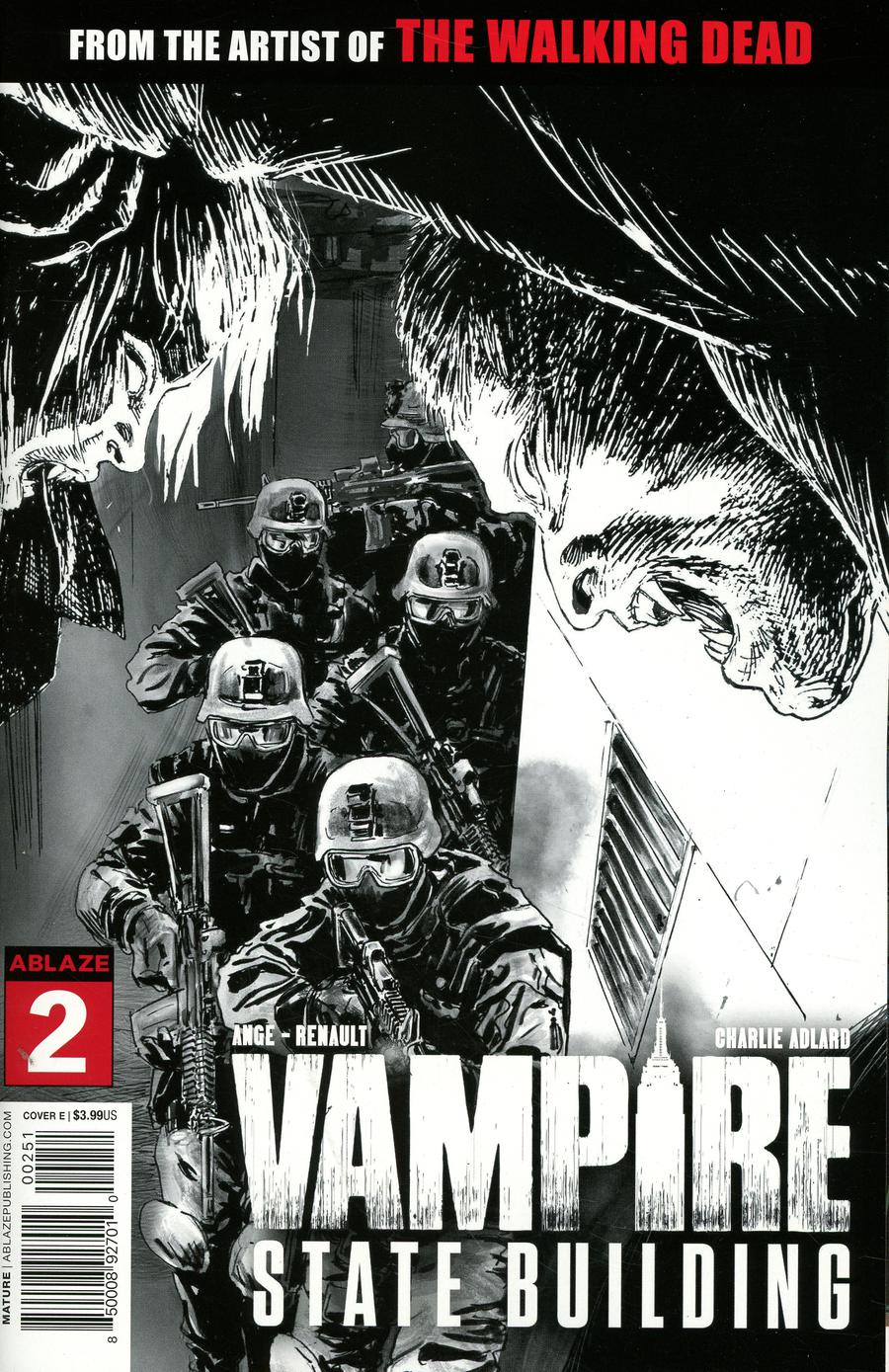 Vampire State Building #2 Cover E Incentive Glow-In-The-Dark Variant Cover