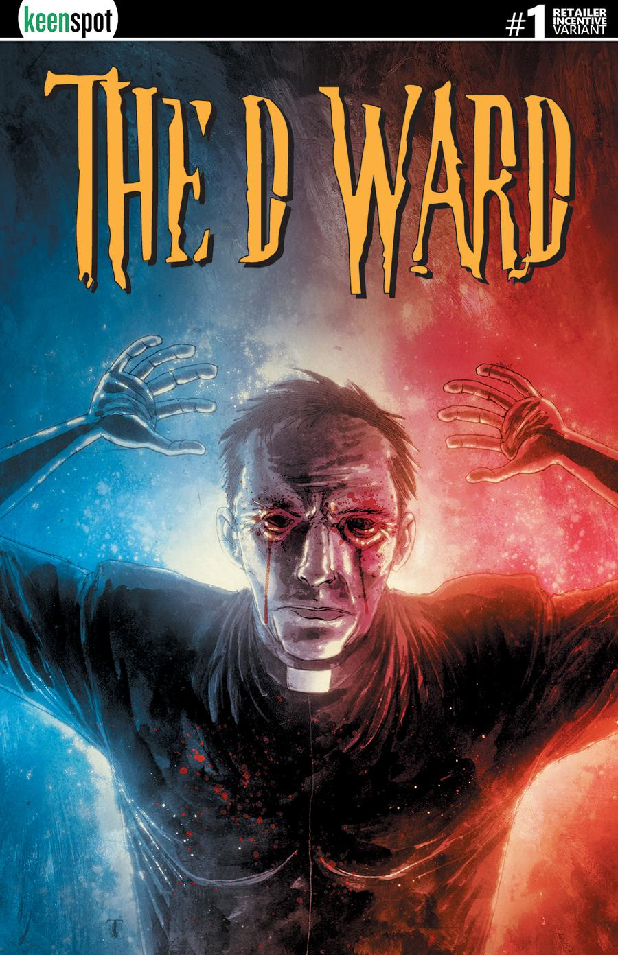 D Ward #1 Cover D Incentive Ben Templesmith Variant Cover