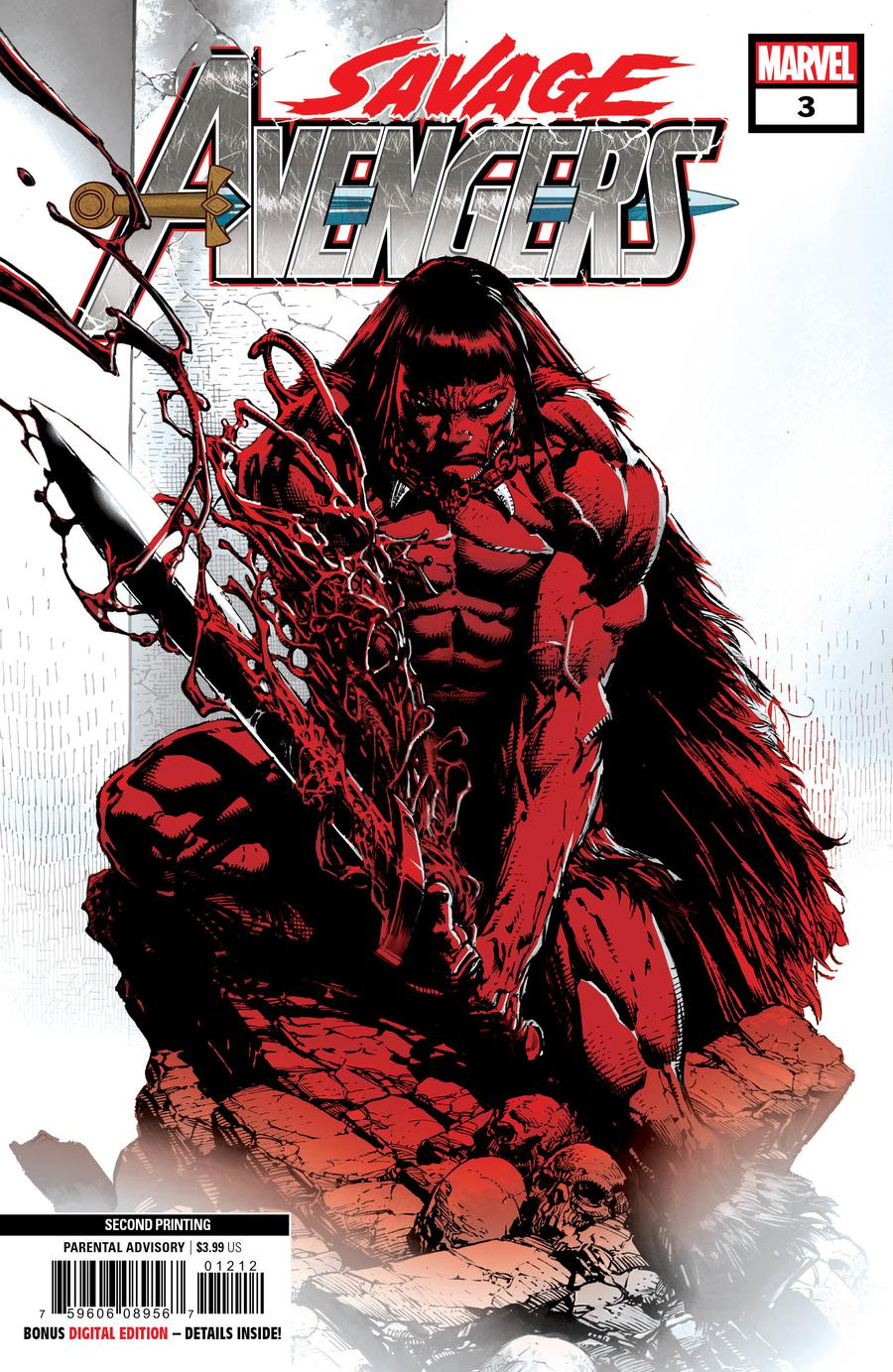 Savage Avengers #3 Cover D 2nd Ptg Variant Davd Finch Cover