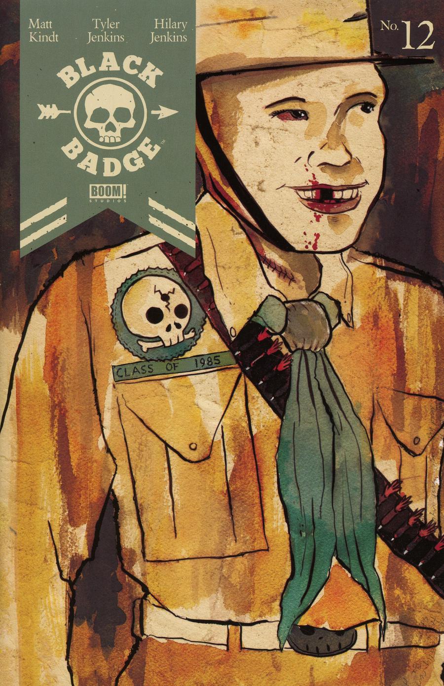 Black Badge #12 Cover A Matt Kindt