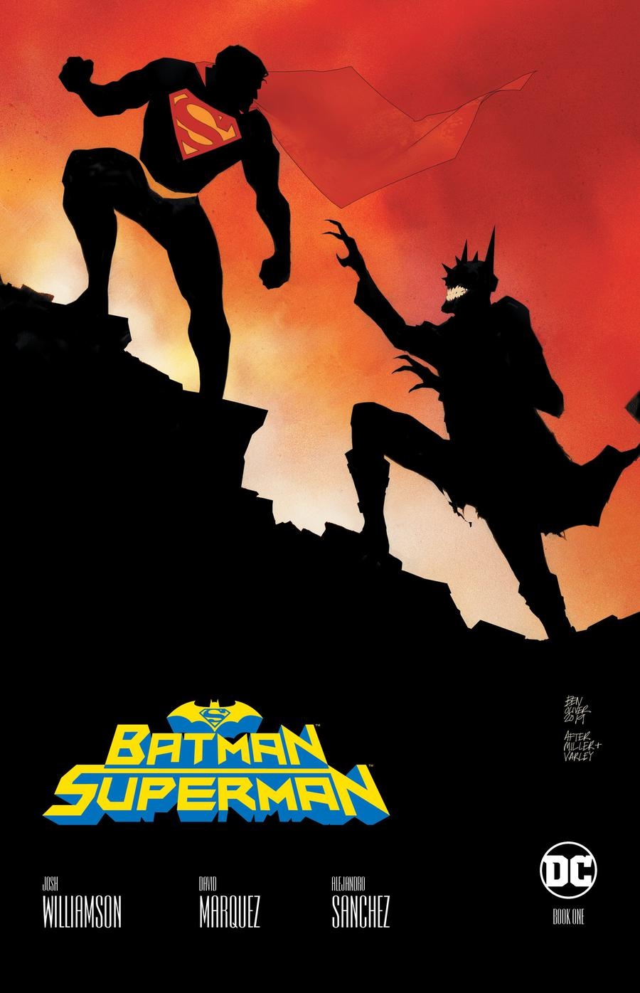 Batman Superman Vol 2 #1  Midtown Exclusive Ben Oliver Variant Cover