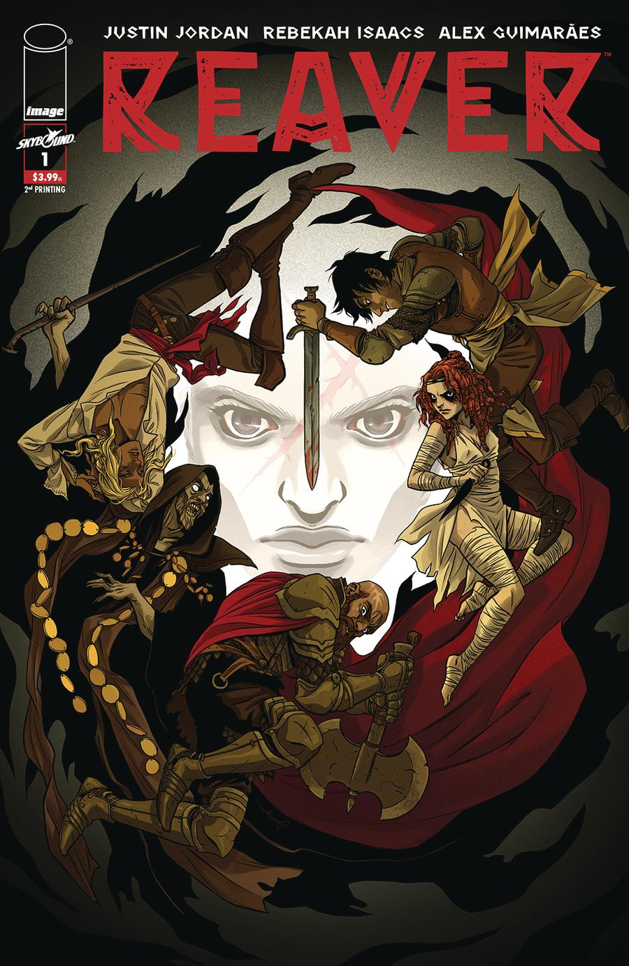 Reaver #1 Cover B 2nd Ptg Variant Becky Cloonan Cover