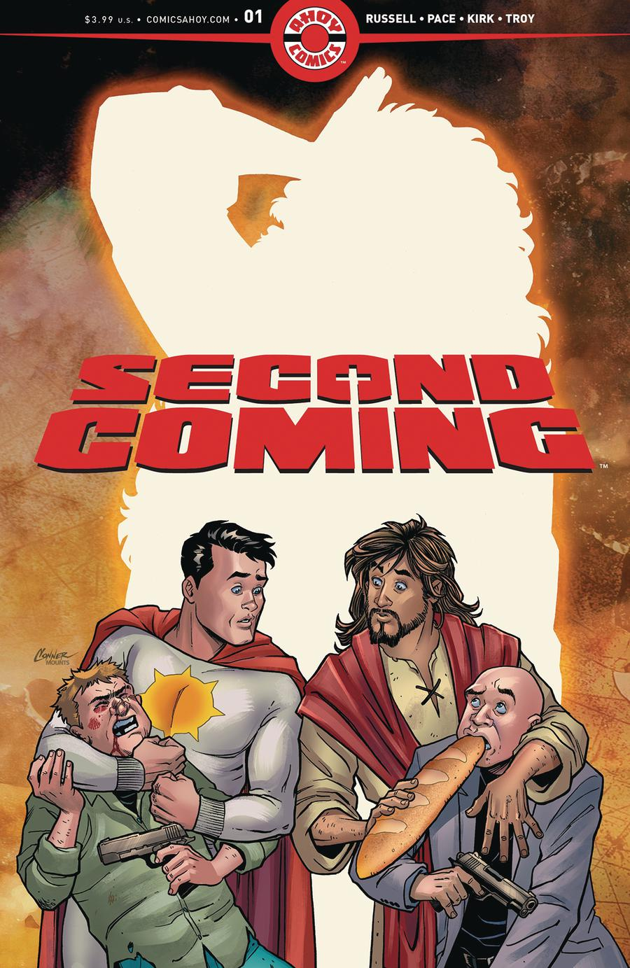 Second Coming #1 Cover C 2nd Ptg Variant Amanda Connor Cover