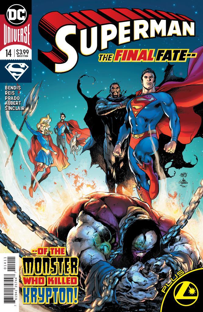 Superman Vol 6 #14 Cover A Regular Ivan Reis & Joe Prado Cover