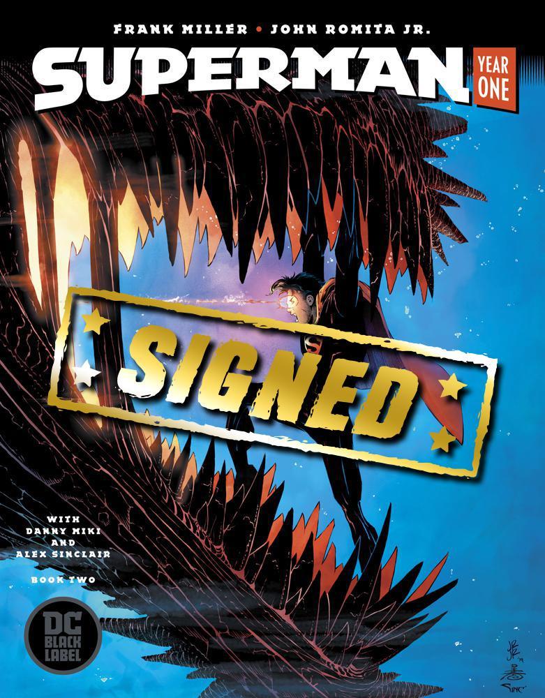 Superman Year One #2 Cover C Regular John Romita Jr & Danny Miki Cover Signed By John Romita Jr