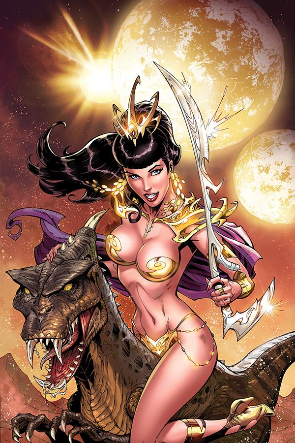 Bettie Page Unbound #3 Cover G Incentive John Royle Virgin Cover