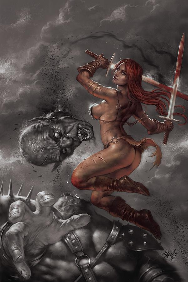 Red Sonja Birth Of The She-Devil #3 Cover G Incentive Lucio Parrilo Hue Virgin Variant Cover
