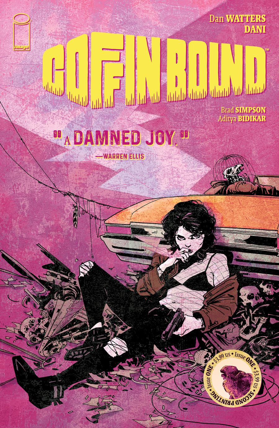 Coffin Bound #1 Cover B 2nd Ptg Variant Dani Cover
