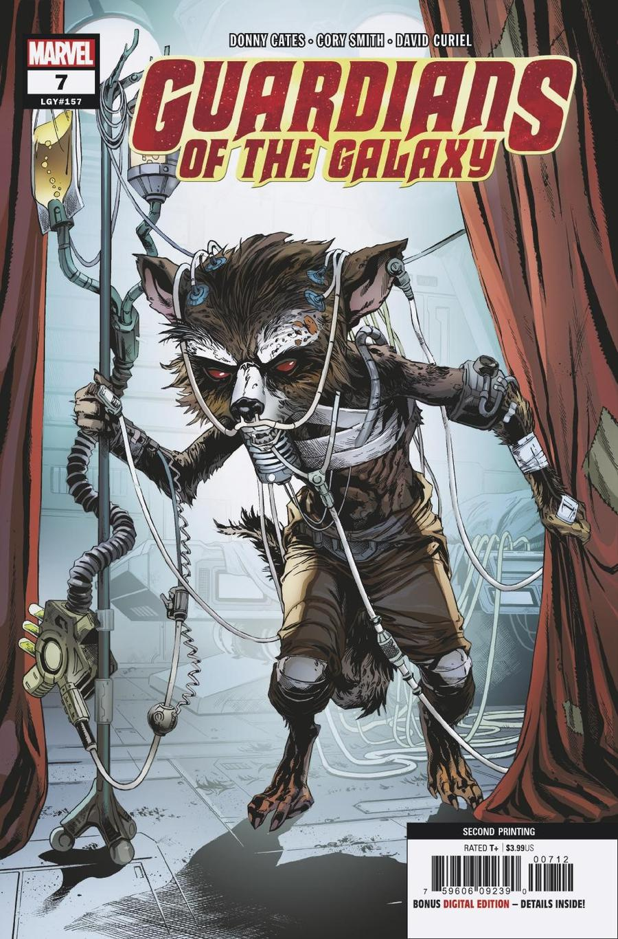 Guardians Of The Galaxy Vol 5 #7 Cover D 2nd Ptg Variant Cory Smith Cover