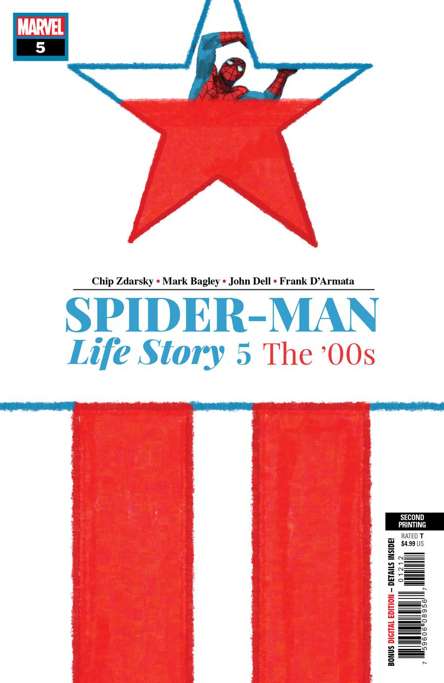 Spider-Man Life Story #5 Cover C 2nd Ptg Variant Chip Zdarsky Cover