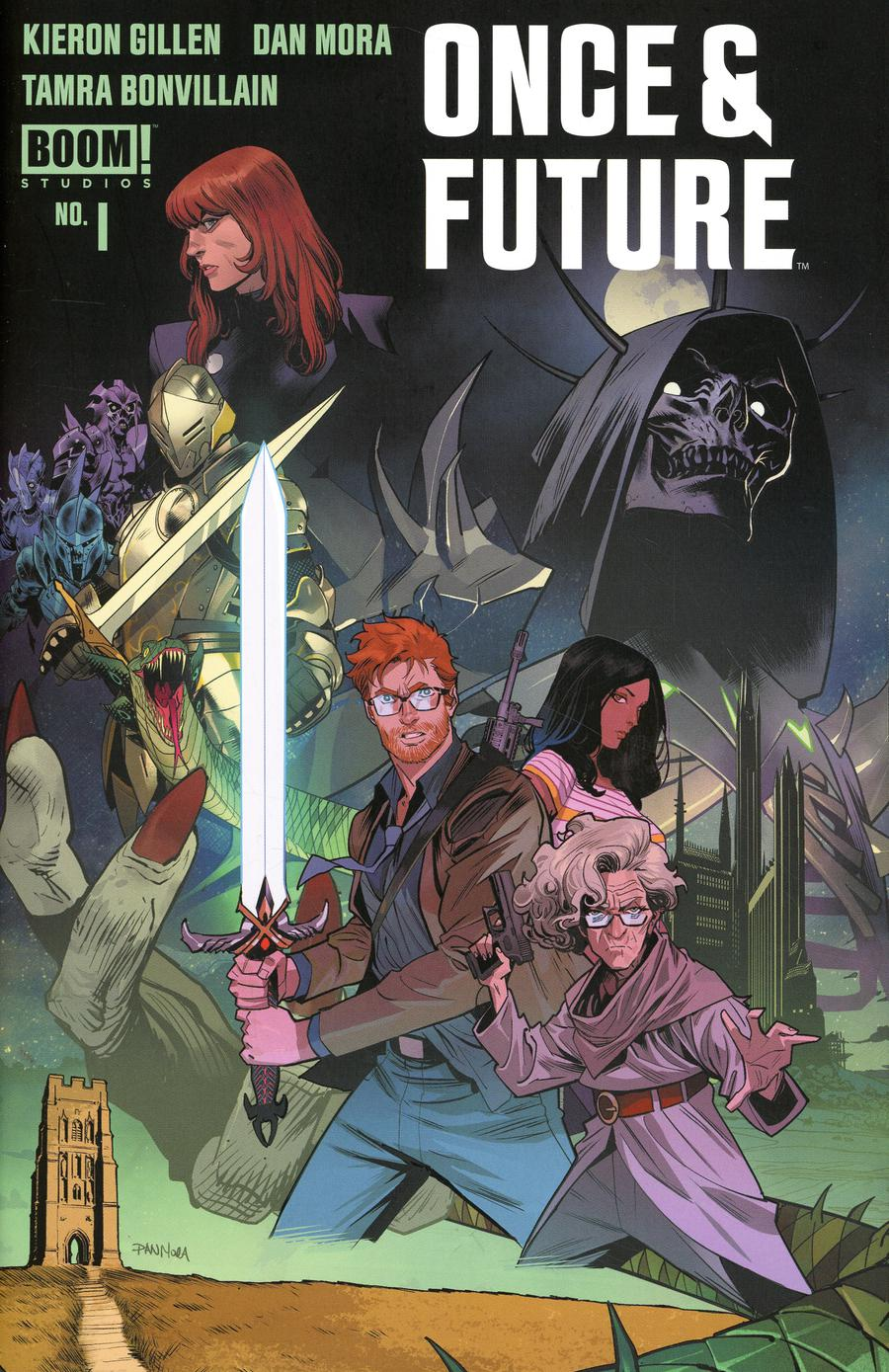 Once & Future #1 Cover C 2nd Ptg