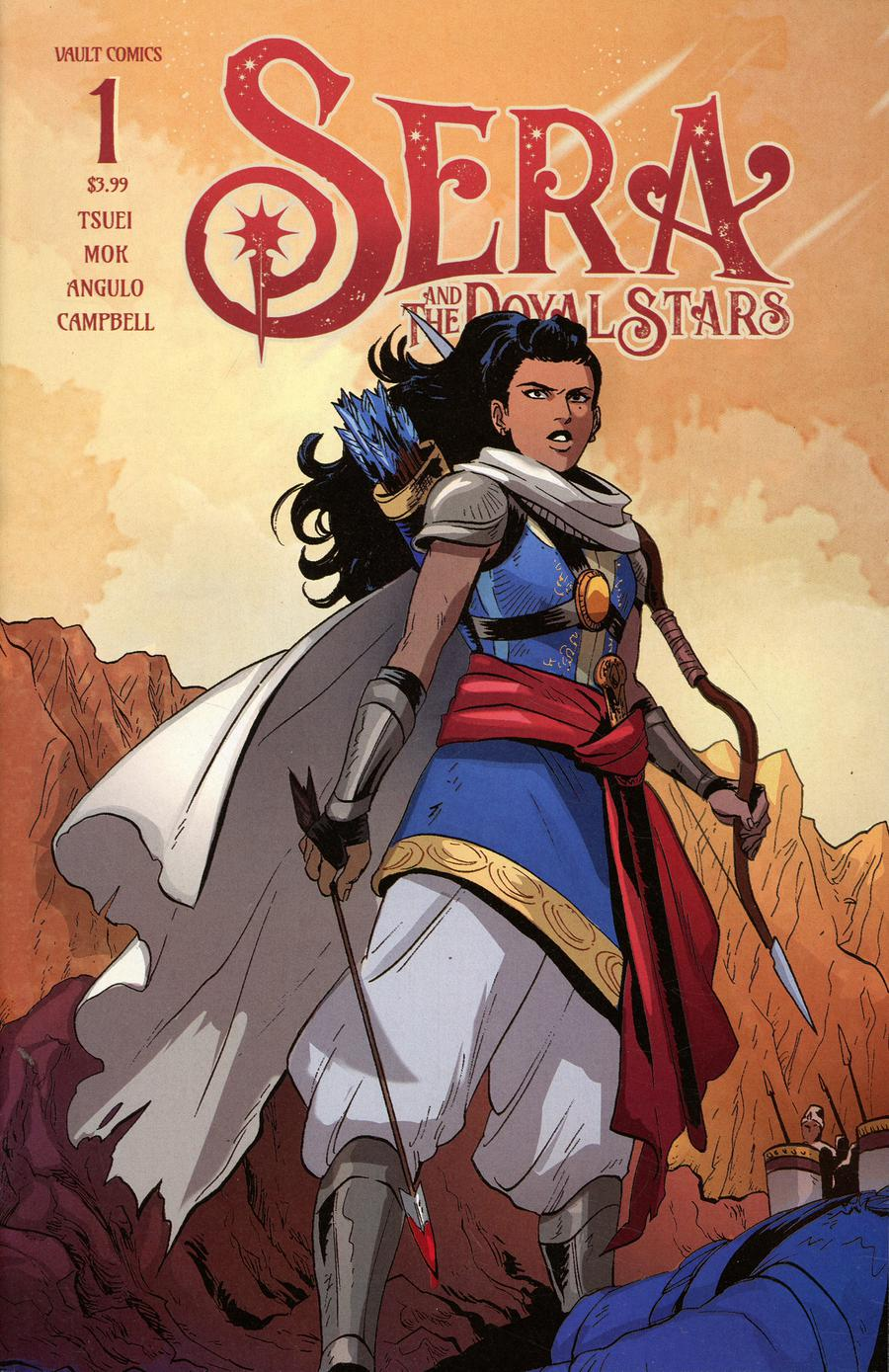 Sera And The Royal Stars #1 Cover D 2nd Ptg Variant Audrey Mok Cover