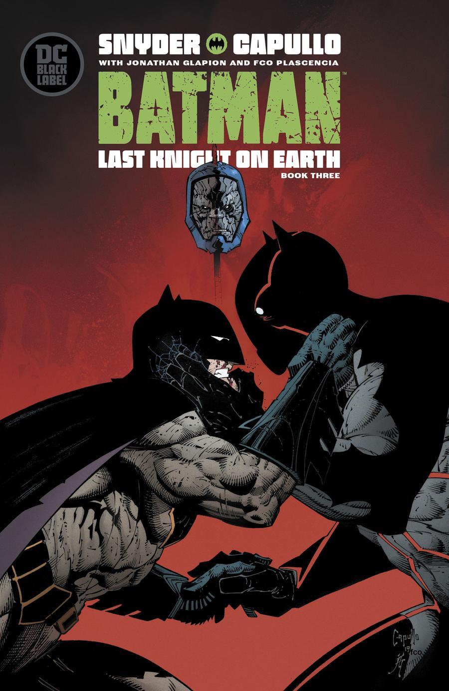 Batman Last Knight On Earth #3 Cover A Regular Greg Capullo Cover