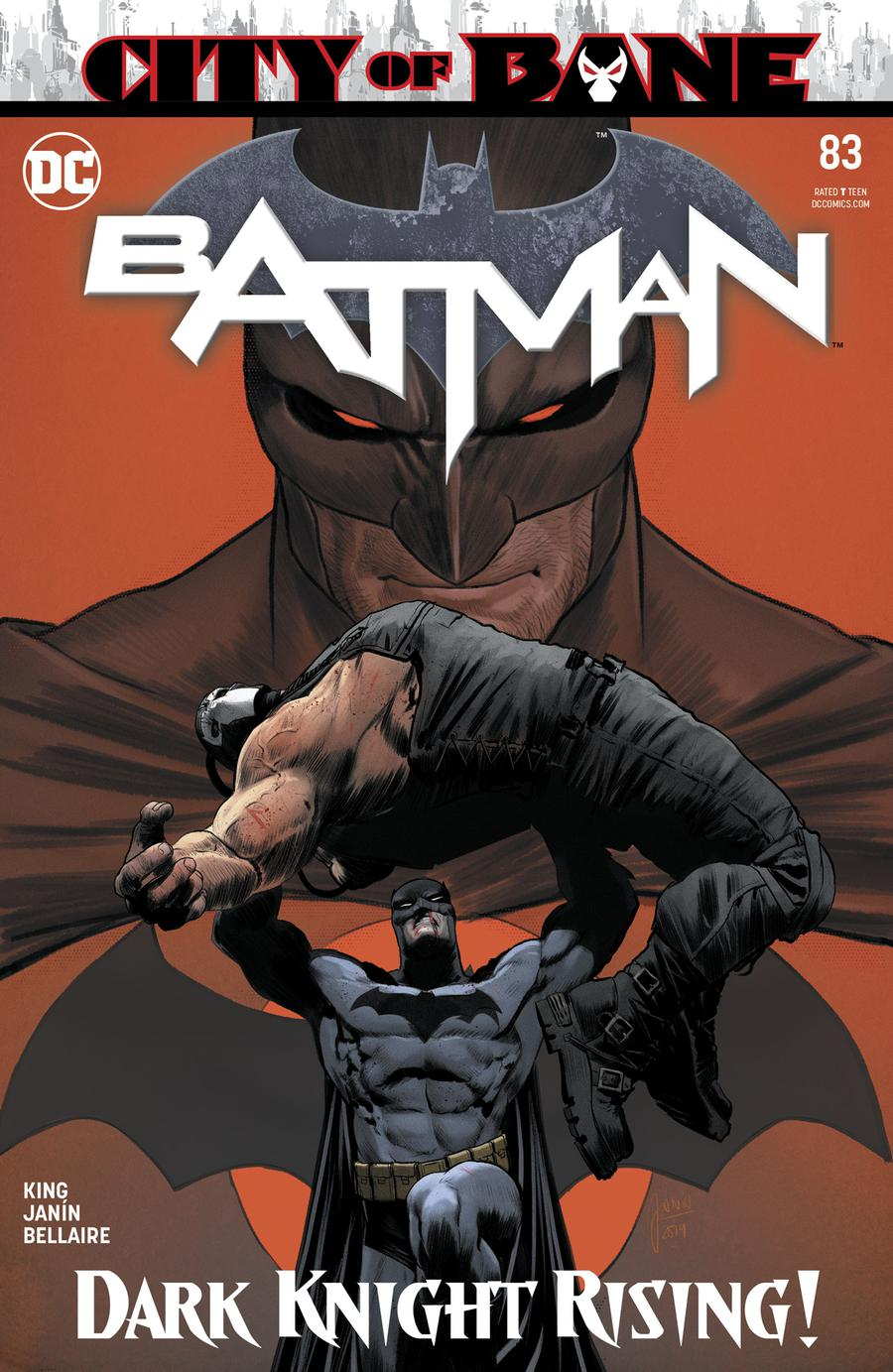 Batman Vol 3 #83 Cover A Regular Mikel Janin Cover