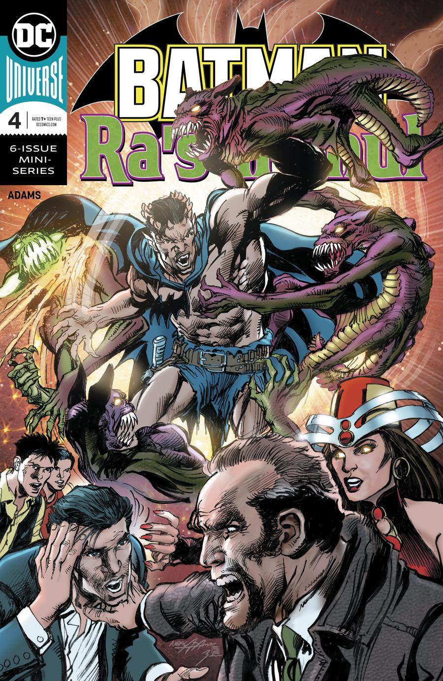 Batman vs Ras Al Ghul #4