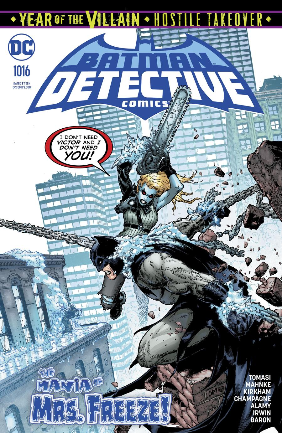 Detective Comics Vol 2 #1016 Cover A Regular Doug Mahnke Cover