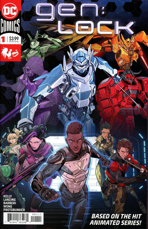 GenLock #1 Cover A Regular Dan Mora Cover