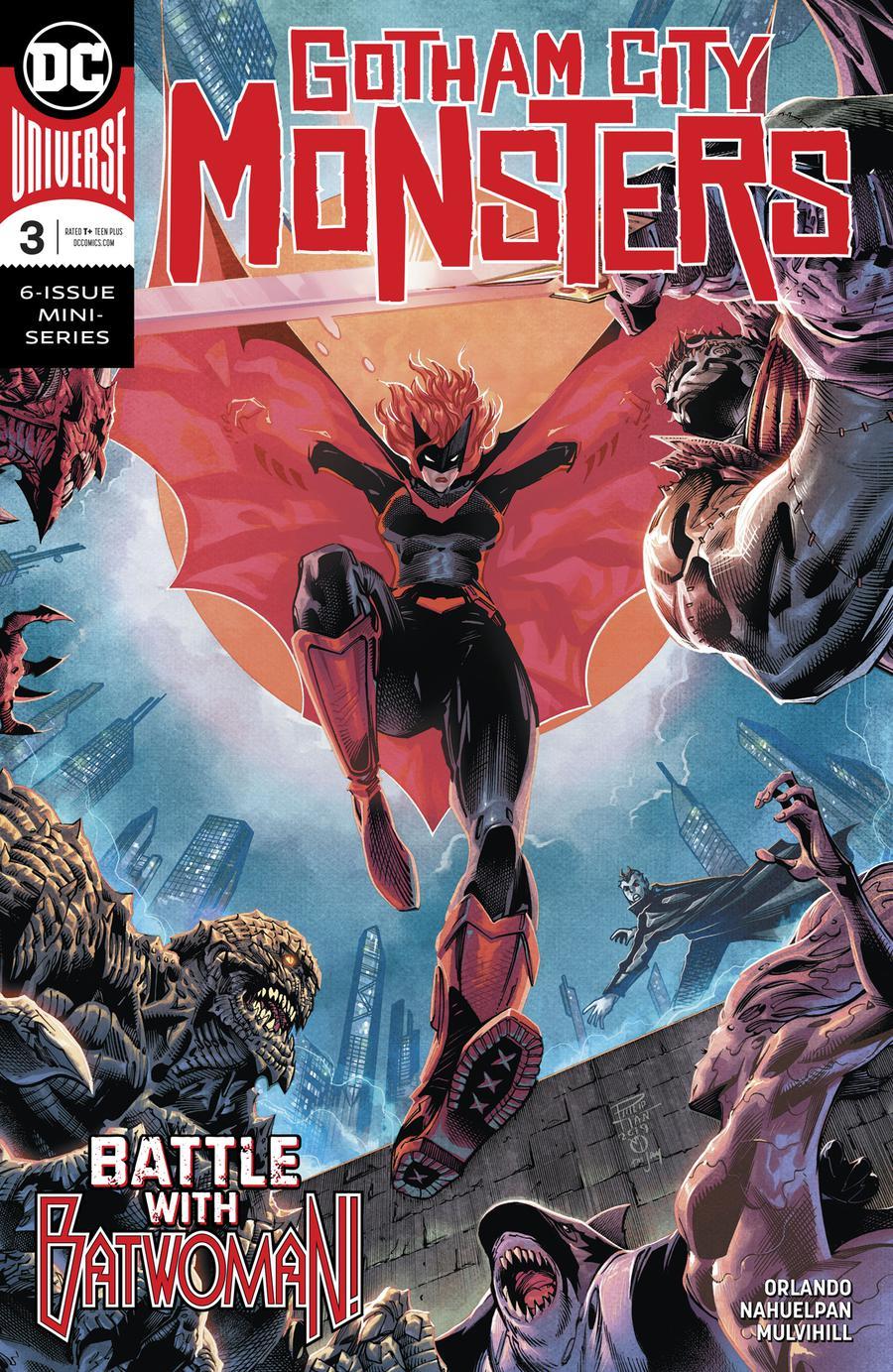 Gotham City Monsters #3