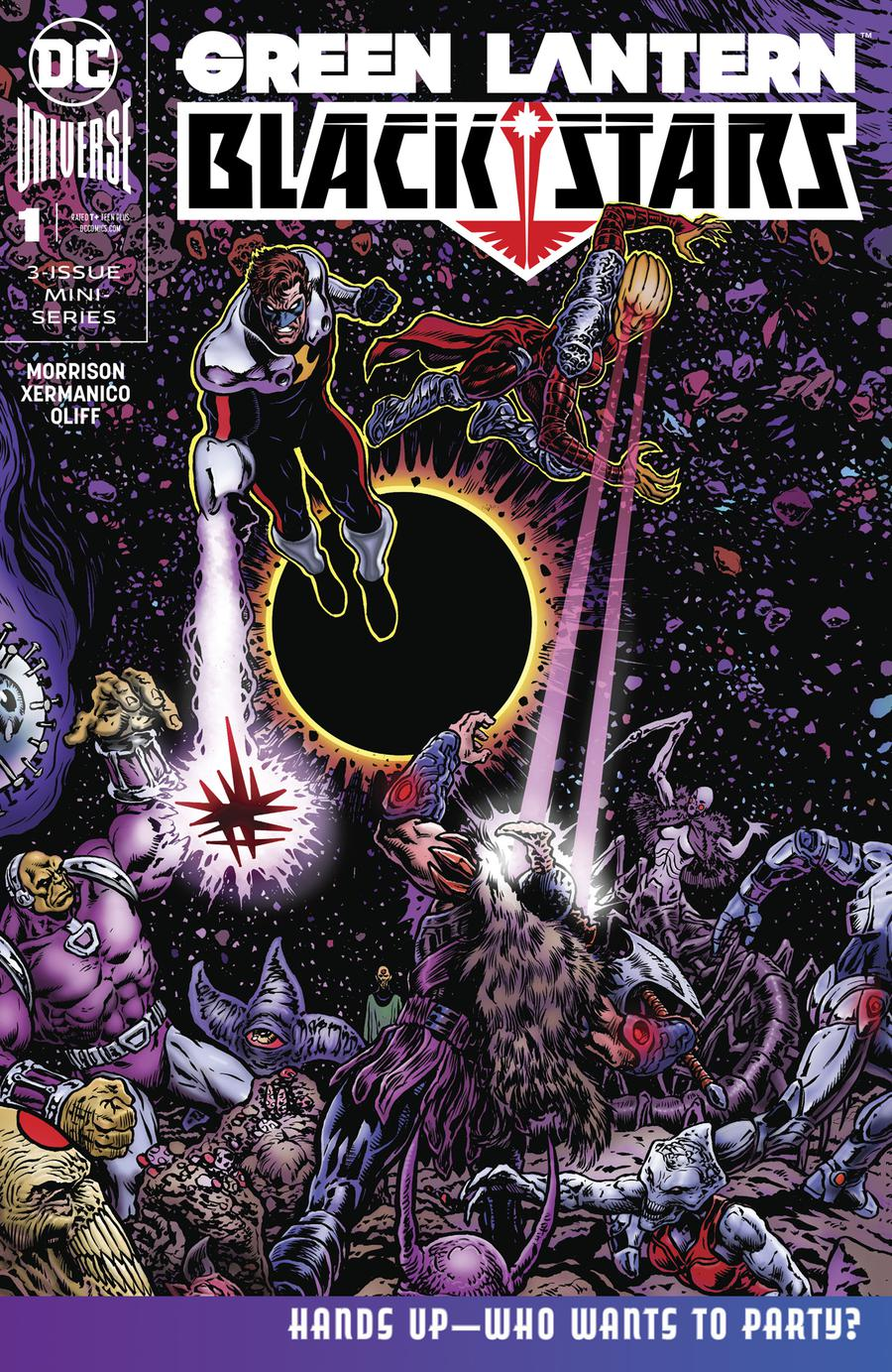 Green Lantern Blackstars #1 Cover A Regular Liam Sharp Cover
