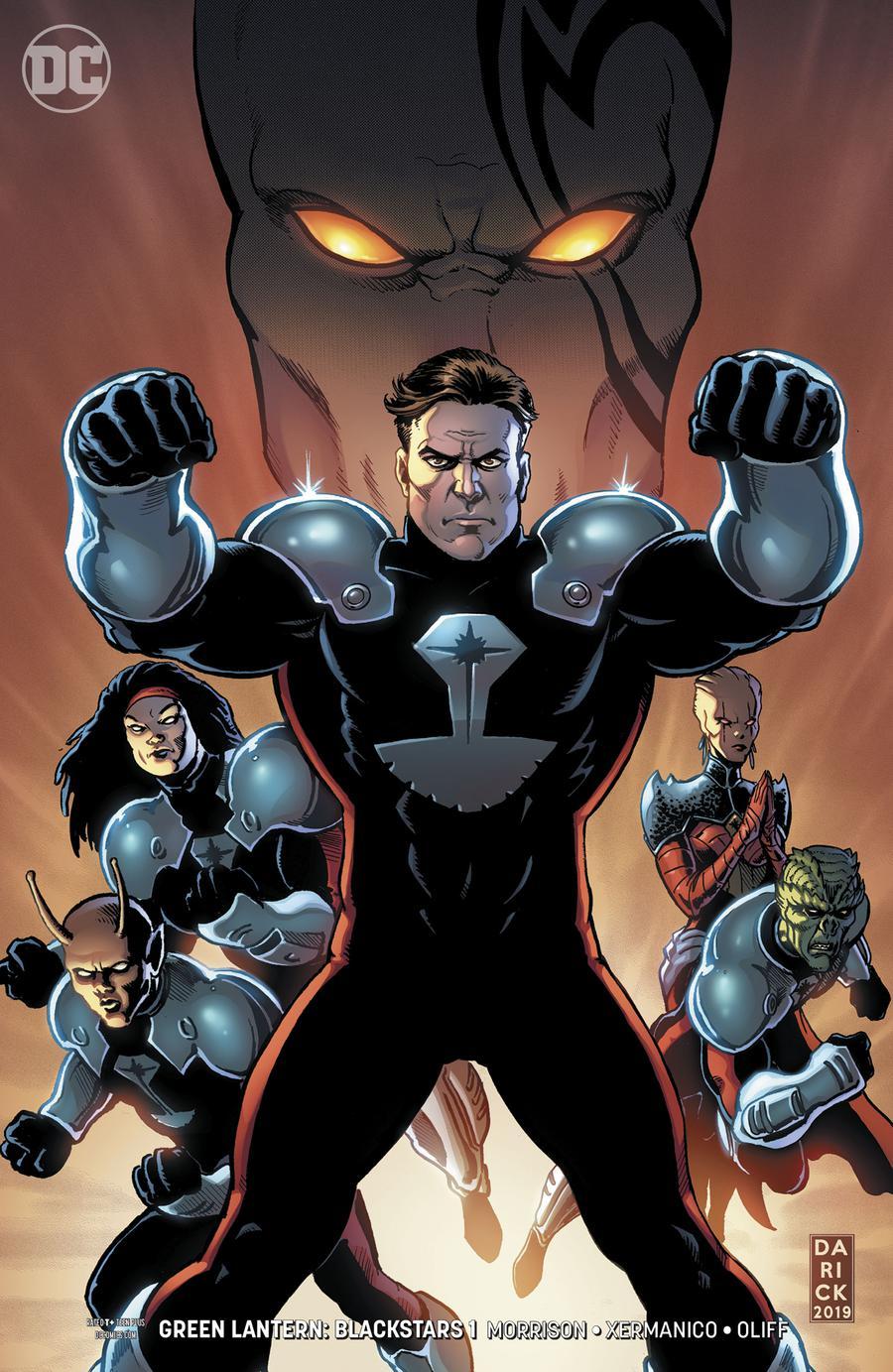 Green Lantern Blackstars #1 Cover B Variant Darick Robertson Cover