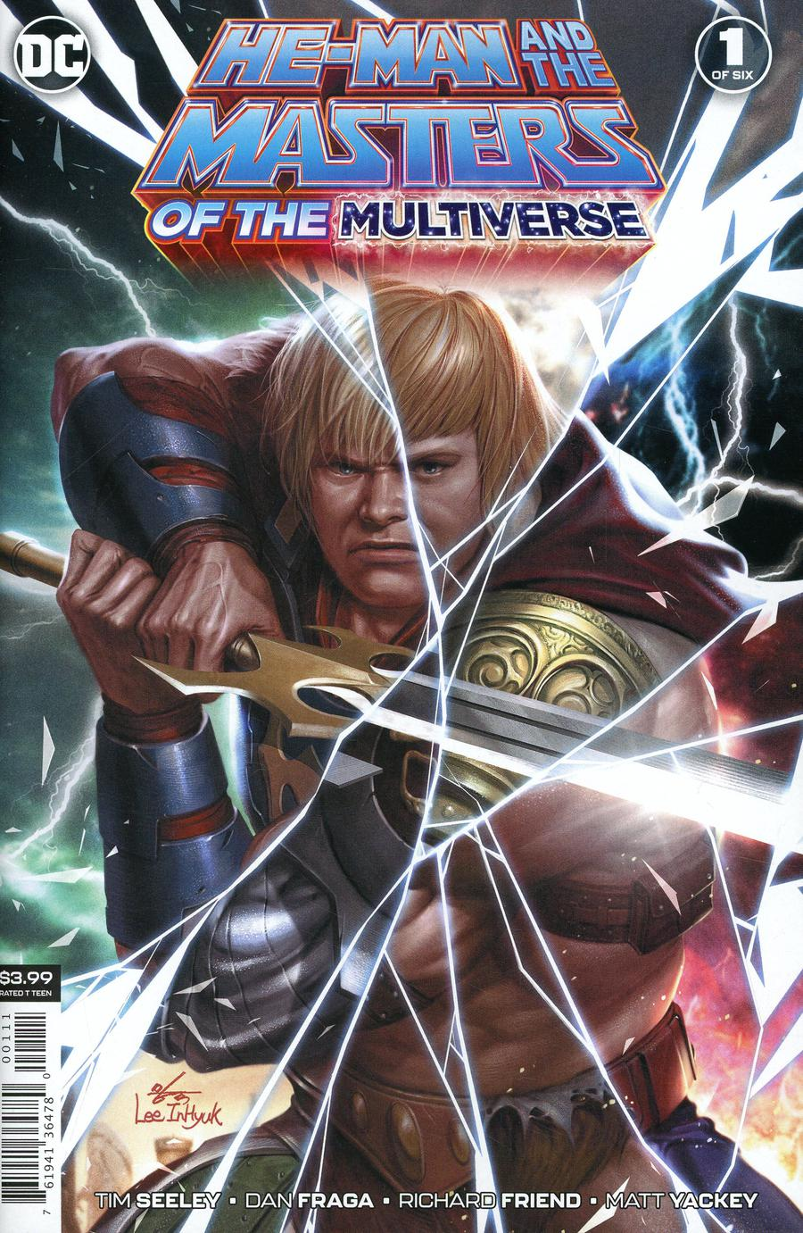 He-Man And The Masters Of The Multiverse #1 Cover A Regular Inhyuk Lee Cover