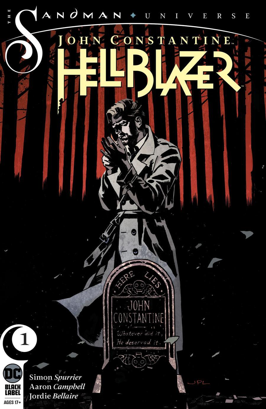 John Constantine Hellblazer #1 Cover A Regular John Paul Leon Cover