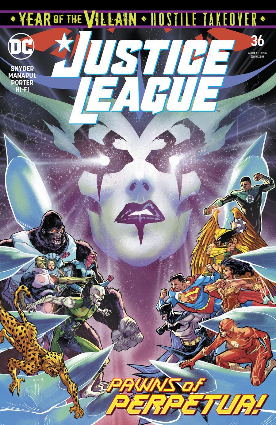 Justice League Vol 4 #36 Cover A Regular Francis Manapul Cover