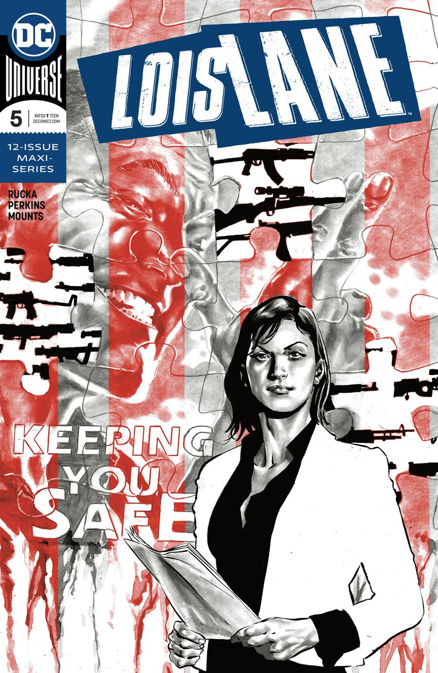 Lois Lane Vol 2 #5 Cover A Regular Mike Perkins Cover