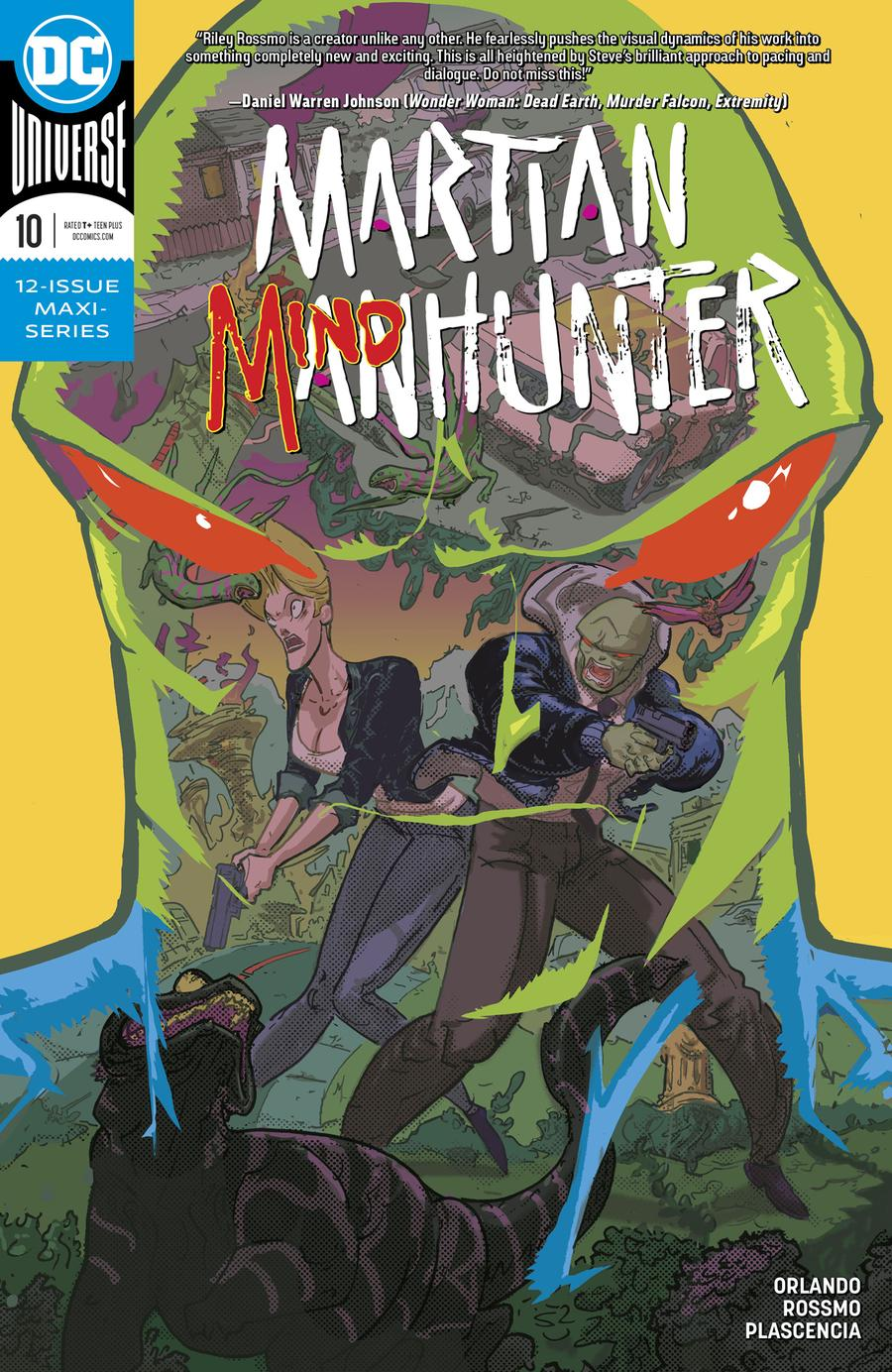 Martian Manhunter Vol 5 #10 Cover A Regular Riley Rossmo Cover