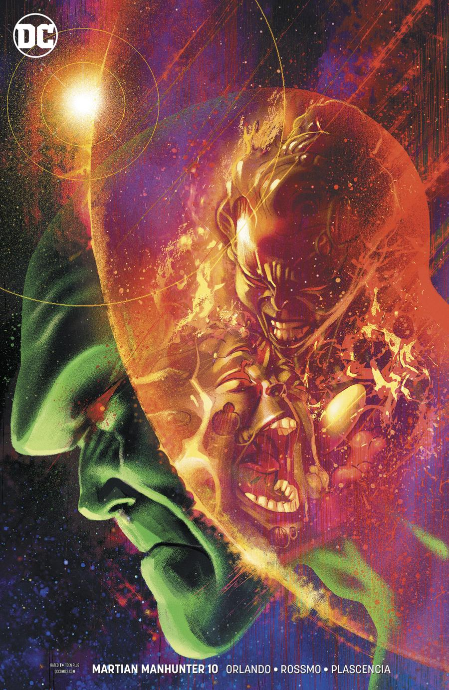 Martian Manhunter Vol 5 #10 Cover B Variant Joshua Middleton Cover