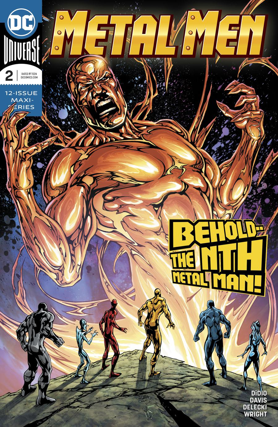 Metal Men Vol 4 #2 Cover A Regular Shane Davis Cover