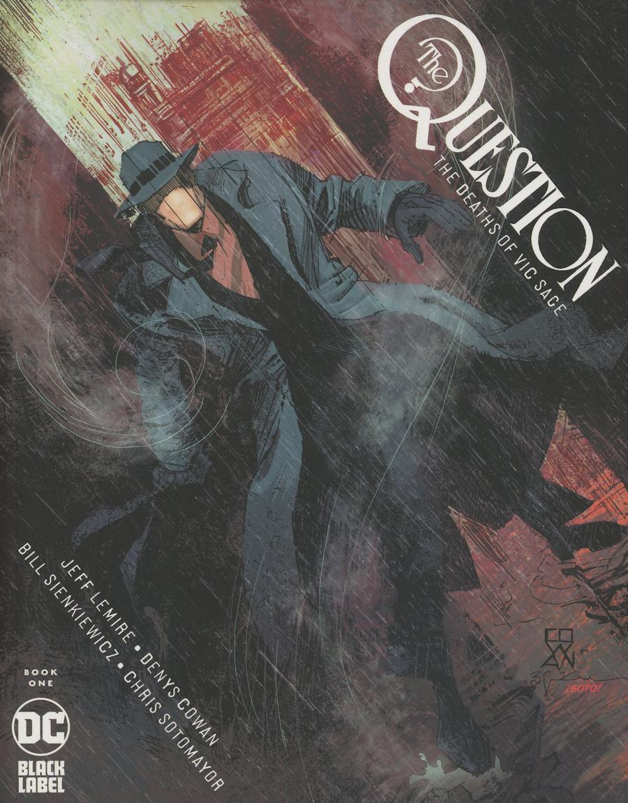 Question The Deaths Of Vic Sage #1 Cover A Regular Denys Cowan & Bill Sienkiewicz Cover