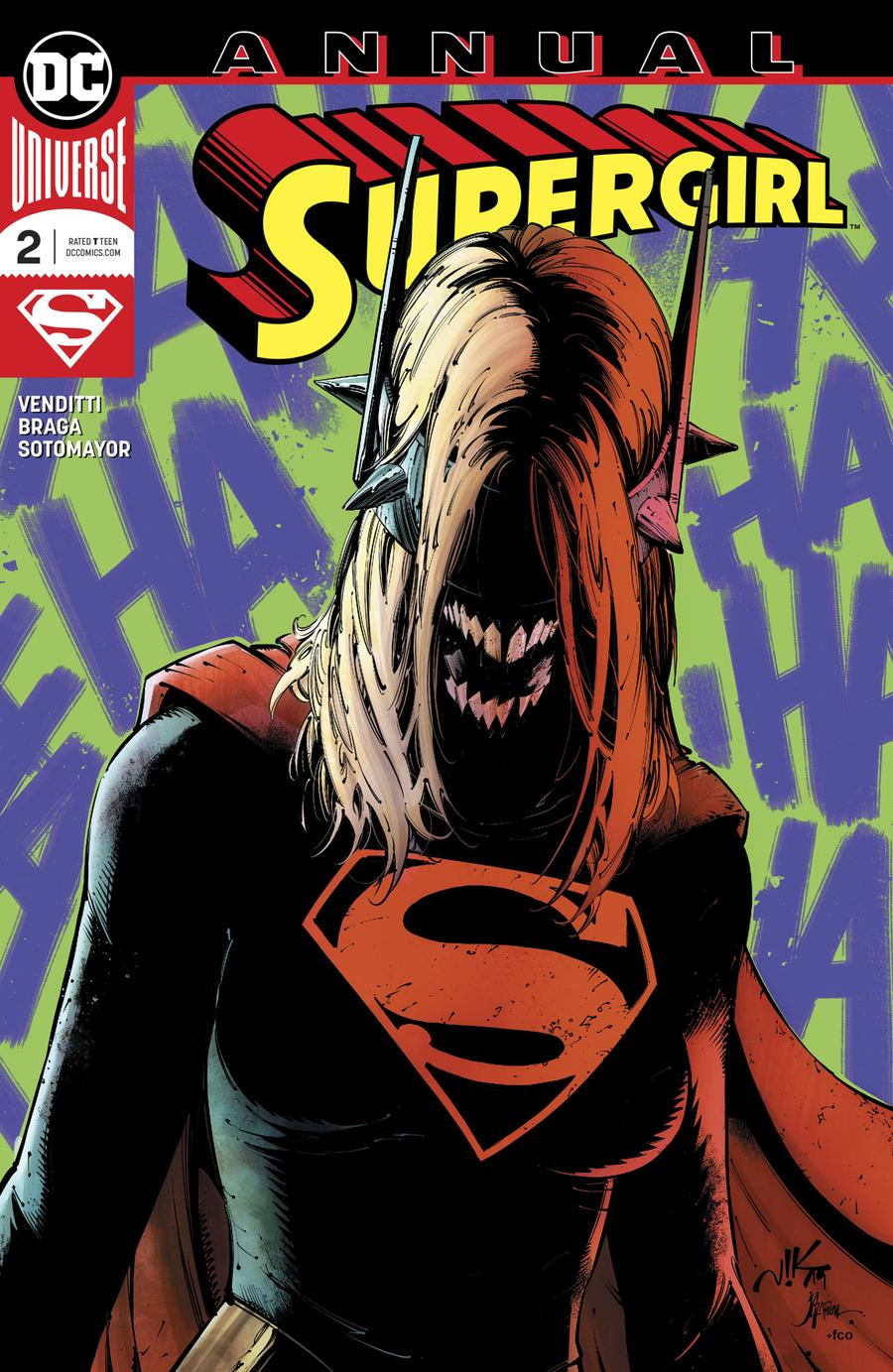 Supergirl Vol 7 Annual #2