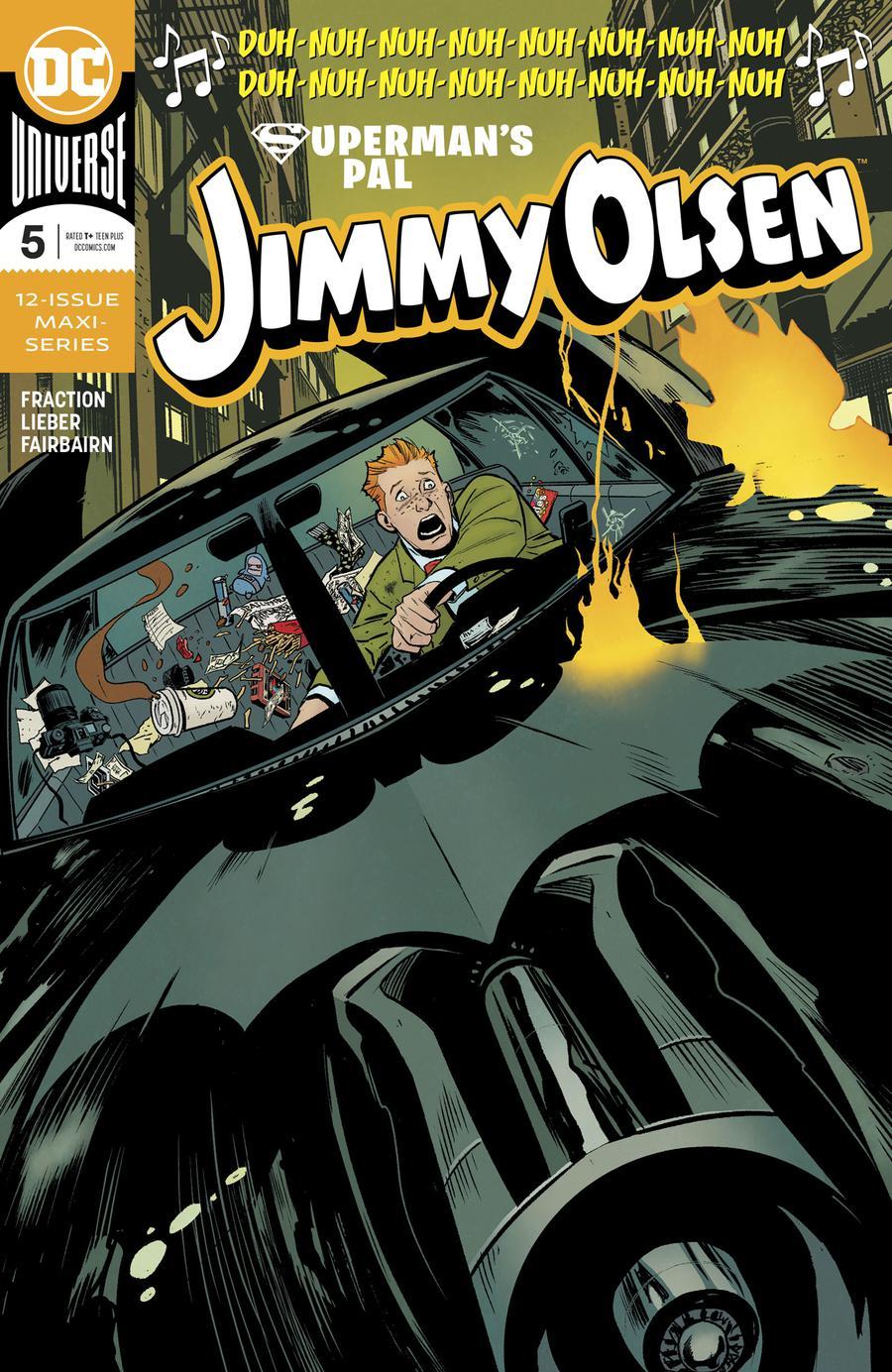 Supermans Pal Jimmy Olsen Vol 2 #5 Cover A Regular Steve Lieber Cover