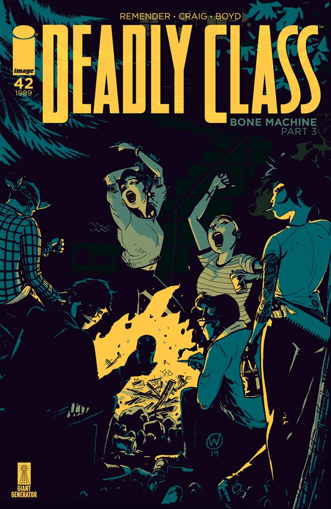 Deadly Class #42 Cover A Regular Wes Craig Cover