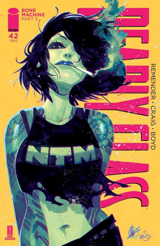 Deadly Class #42 Cover B Variant Matteo Scalera & Moreno Dinisio Cover