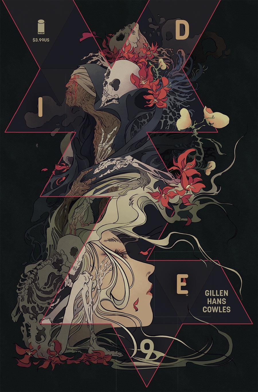 Die #9 Cover B Variant Emma Rios & Miquel Muerto Cover