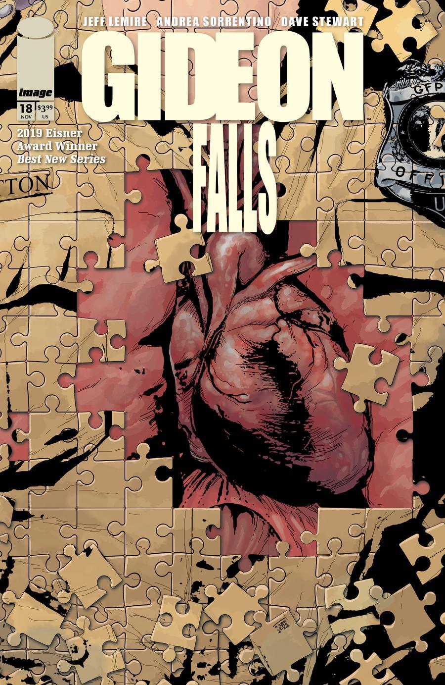 Gideon Falls #18 Cover A Regular Andrea Sorrentino Cover